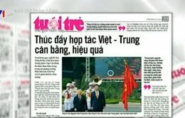 Chuyến thăm Việt Nam của ông Tập Cận Bình thu hút sự quan tâm lớn của báo chí