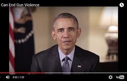 Kêu gọi chấm dứt bạo lực súng, Tổng thống Obama sát cánh cùng sao Hollywood