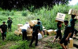 Quảng Trị: Bắt giữ nhiều vụ buôn lậu qua biên giới