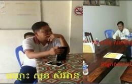 Campuchia bắt 2 quan chức Đảng Cứu quốc xuyên tạc quan hệ với Việt Nam
