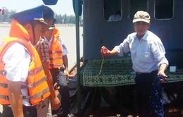 Bắt giữ tàu vận chuyển 20.000 lít dầu FO trên biển