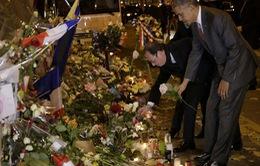 Tổng thống Mỹ thăm nhà hát Bataclan, Paris