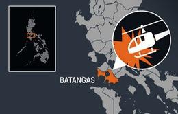 Rơi máy bay trực thăng ở Philippines, 8 người thương vong