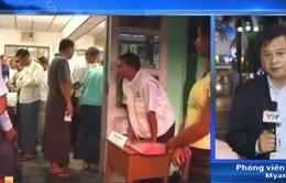 Bầu cử tại Myanmar diễn ra trong không khí ôn hòa, trật tự