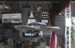 Nhà hàng phục vụ bằng thiết bị bay không người lái