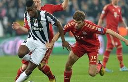 Bayern và Juve hí hửng chờ ngày đại chiến