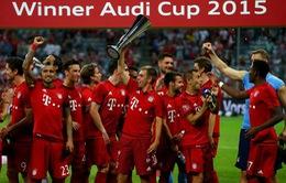 Audi Cup 2015: Lewandowski lập đại công, Bayern Munich đả bại Real Madrid