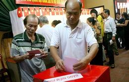 Bầu cử đại biểu Quốc hội khóa XIV diễn ra vào ngày 22/5/2016