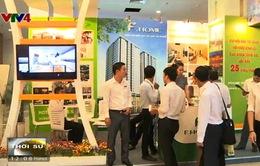 Hơn 100 gian hàng tham gia tại Hội chợ triển lãm BĐS Việt Nam
