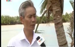 TP.HCM: Tập trung di dời hai hộ dân ra khỏi khu vực có nguy cơ sạt lở cao