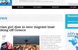 Bé gái tị nạn 5 tuổi chết đuối ngoài khơi bờ biển Hy Lạp