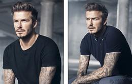 """Beckham cực """"chất"""" trong bộ ảnh quảng cáo mới"""