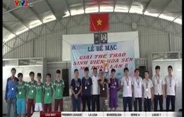 Bế mạc Hội thao truyền thống sinh viên Hoa Sen mở rộng