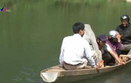 Quảng Nam: Nguy hiểm rình rập nơi bến sông