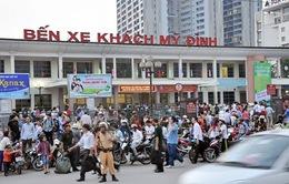 Hà Nội: Tăng xe dịp nghỉ lễ, giá vận tải không tăng