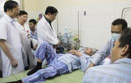 Quá tải bệnh nhân sốt xuất huyết tại Quảng Ngãi