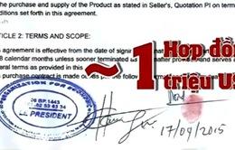 Dấu hiệu lừa đảo của bản hợp đồng mua than trị giá triệu USD