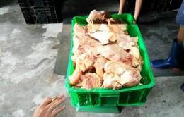 Cận cảnh kho chứa 10 tấn gà đông lạnh quá hạn sử dụng