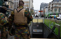 Trường học và tàu điện ngầm ở Brussels mở cửa trở lại