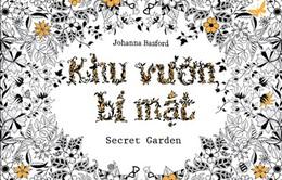 """Khám phá """"Khu vườn bí mật"""" – sách tô màu dễ thương dành cho người lớn"""