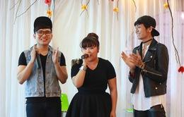 Vietnam Idol 2015: Bích Ngọc - Trọng Hiếu quậy tưng bừng với fan