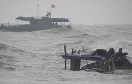 Tàu nước ngoài liên tiếp gặp nạn tại vùng biển Vũng Tàu vì thời tiết xấu