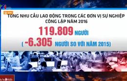 TP.HCM giảm hơn 6.300 biên chế trong năm 2016