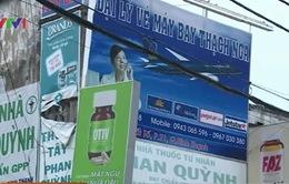 TP.HCM: Xử phạt gần 22.000 biển hiệu, biển quảng cáo
