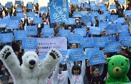 Tuần hành toàn cầu kêu gọi ứng phó với biến đổi khí hậu