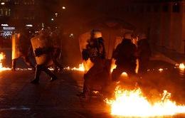 Biểu tình bạo lực phản đối gói cứu trợ tại Hy Lạp