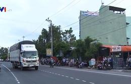 Thông xe Quốc lộ 1 đoạn qua Bình Định