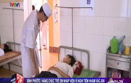 Bình Phước: Nhiều học sinh nhập viện sau khi tiêm vaccine sởi - rubella
