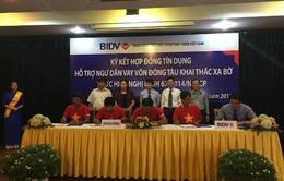 Hỗ trợ ngư dân Bình Định đóng mới 7 tàu vỏ thép