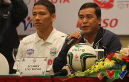 HLV B.Bình Dương: Đội bóng của Campuchia quá may mắn