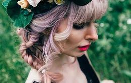 Nhuộm tóc với phong cách... cầu vồng