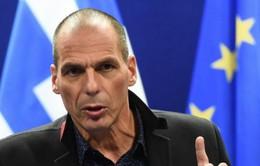 """Bộ trưởng Tài chính Hy Lạp từ chức, thị trường """"rung lắc"""" mạnh"""