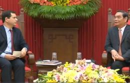 Đoàn đại biểu Đảng Cộng sản Bồ Đào Nha thăm Việt Nam