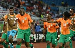 Bờ Biển Ngà tràn trề cơ hội vô địch CAN 2015
