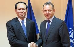 Đại tướng Trần Đại Quang hội đàm với Giám đốc Cơ quan An ninh quốc gia Cộng hòa Bulgaria