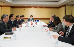 Bộ trưởng Trần Đại Quang hội kiến nhiều quan chức cấp cao Hoa Kỳ