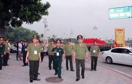 Bộ trưởng Trần Đại Quang kiểm tra đảm bảo an ninh tổng duyệt diễu binh, diễu hành 2/9
