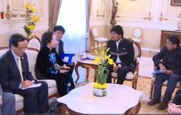 Phó Chủ tịch nước Nguyễn Thị Doan hội kiến Tổng thống Bolivia