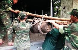 Hải Phòng: Phát hiện quả bom hơn 200kg còn nguyên ngòi nổ