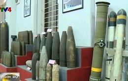 Trao đổi kinh nghiệm quốc tế về rà phá bom mìn