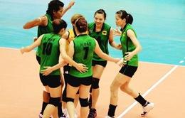 Giải bóng chuyền VĐQG 2015: Đội Bình Điền Long An đánh bại Thái Bình