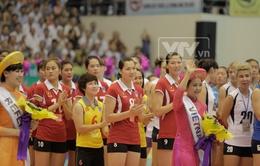 VTV Cup - Nơi những cô gái e lệ đã tự tin giao lưu