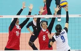 Giải vô địch bóng chuyền nữ châu Á: ĐT Việt Nam giành vé tranh hạng 5-6