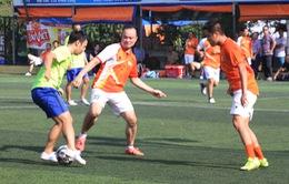 Lộ diện 4 cặp đấu tại Tứ kết Giải bóng đá Mini VTV 2015
