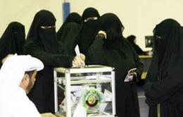 Lần đầu tiên phụ nữ Saudi Arabia có quyền bầu cử