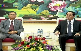 Bộ trưởng Trần Đại Quang tiếp trưởng đại diện Cơ quan hợp tác quốc tế Nhật Bản tại Việt Nam